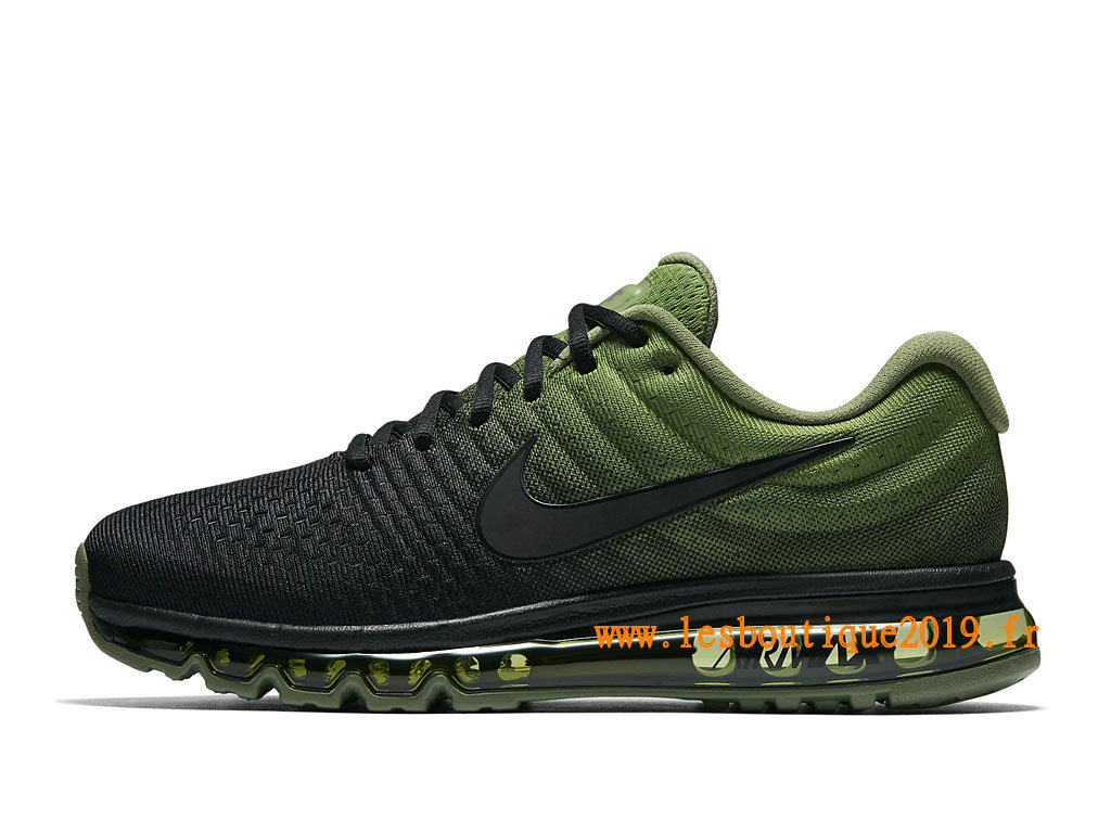 Nike Air Max 2017 Chaussures Nike Running Pas Cher Pour Homme Vert Noir 849559_006