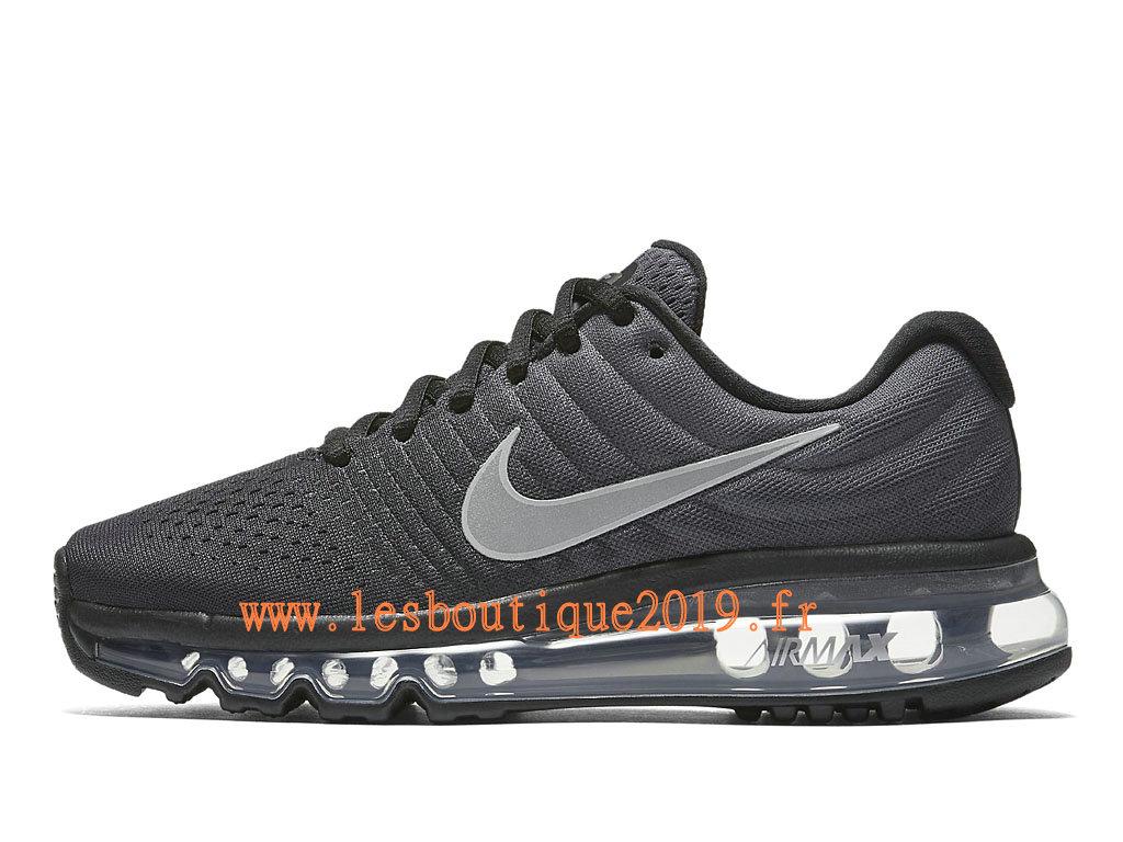 a817630ba6c7 Nike Air Max 2017 GS Black White Women´s Kids´s Nike Running Shoes ...