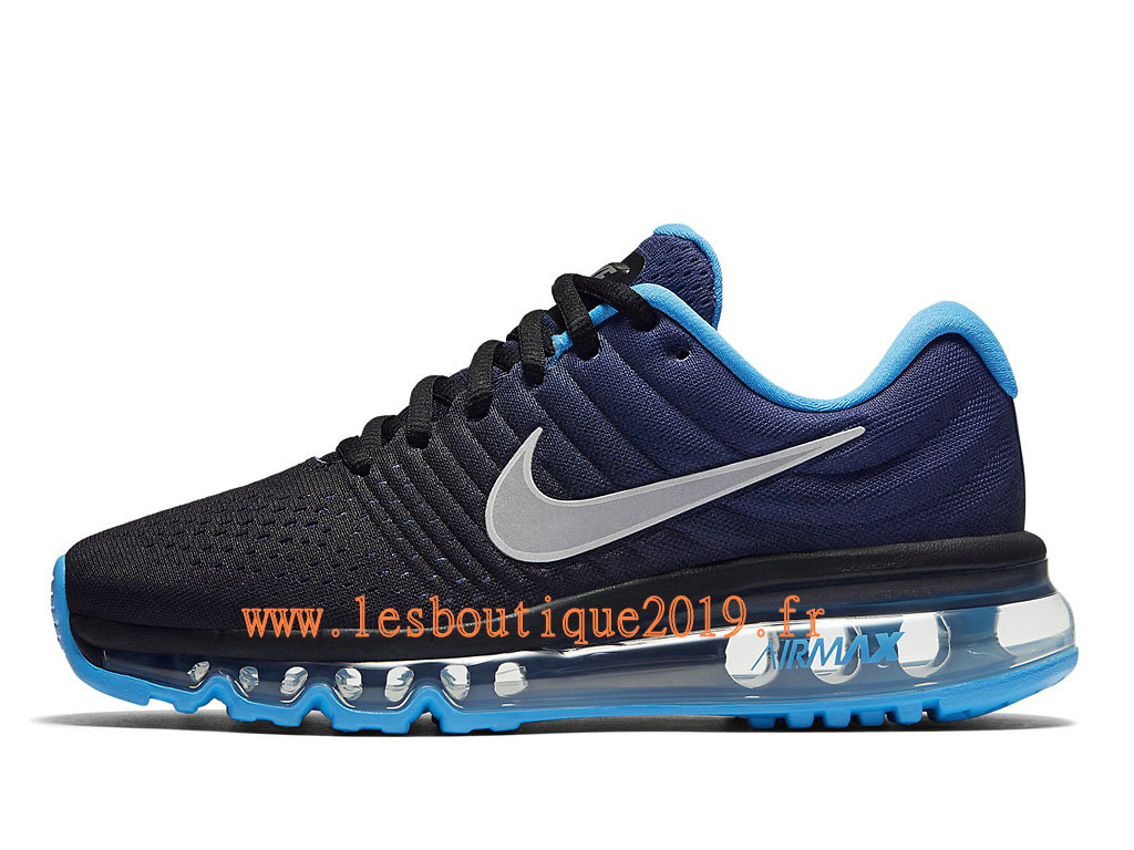 quality design 0fc71 b95d9 Nike Air Max 2017 GS Black Blue Women´s/Kids´s Nike Running Shoes ...
