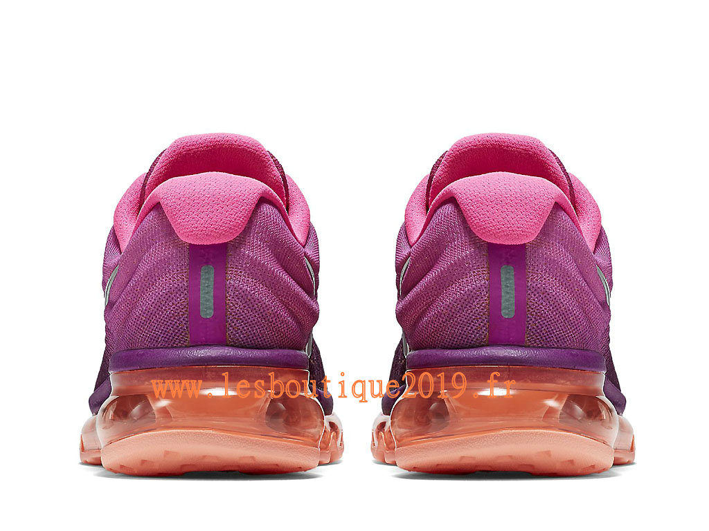 Nike Air Max 2017 GS Rose Gris Chaussures Nike Running Pas Cher Pour Femme/Enfant 849560_502