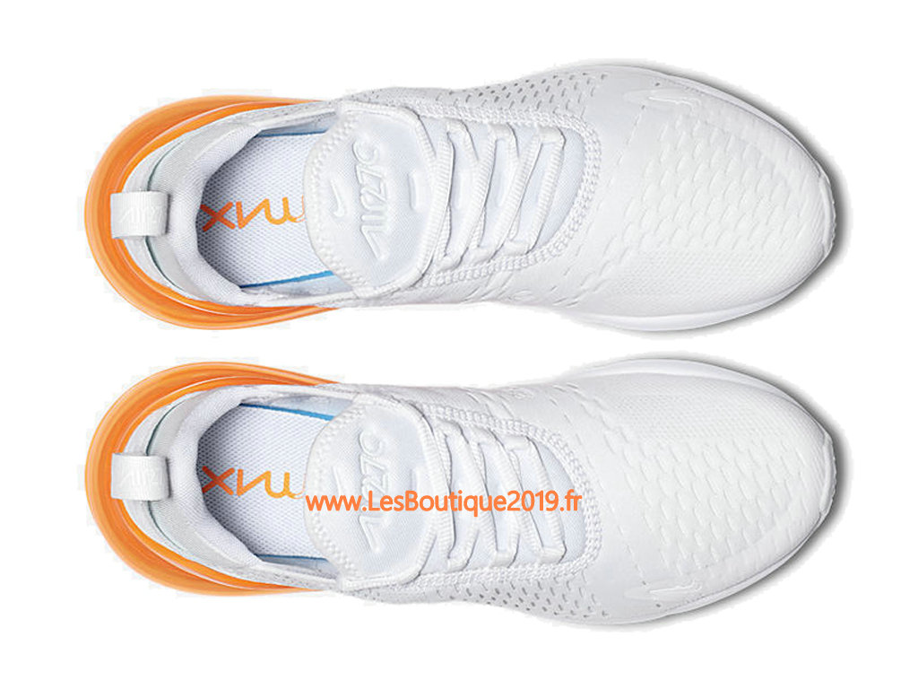 ... Nike Air Max 270 White Orange Men´s Officiel Prix Shoes AH8050-102 ... 0be8fbc6c