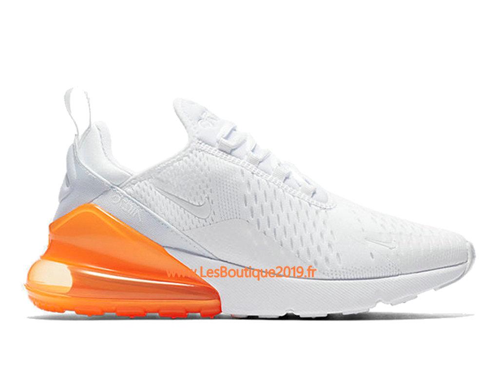 site réputé 09530 e46a4 Nike Air Max 270 Blanc Orange Chaussure Officiel Prix Pas Cher Pour Homme  AH8050-102 - 1807090025 - Achetez de Chaussure de Baskets ! Nike en ligne!