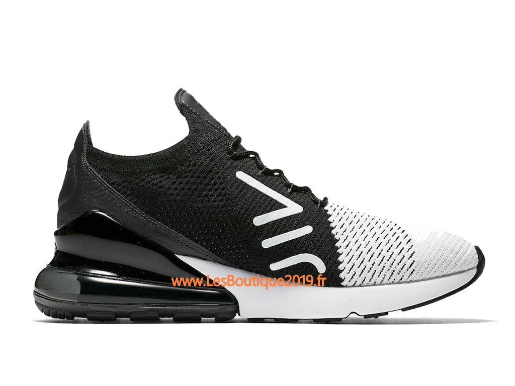 brand new 9ef7f a2a34 Nike Air Max 270 Flyknit Black White Men´s Nike Running Shoes AO1023 ...