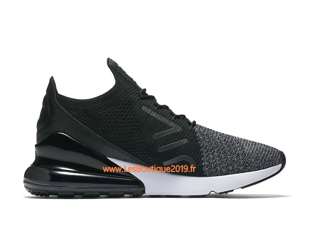 new concept bd135 85662 ... Nike Air Max 270 Flyknit Black Gery Men´s Nike Running Shoes ...