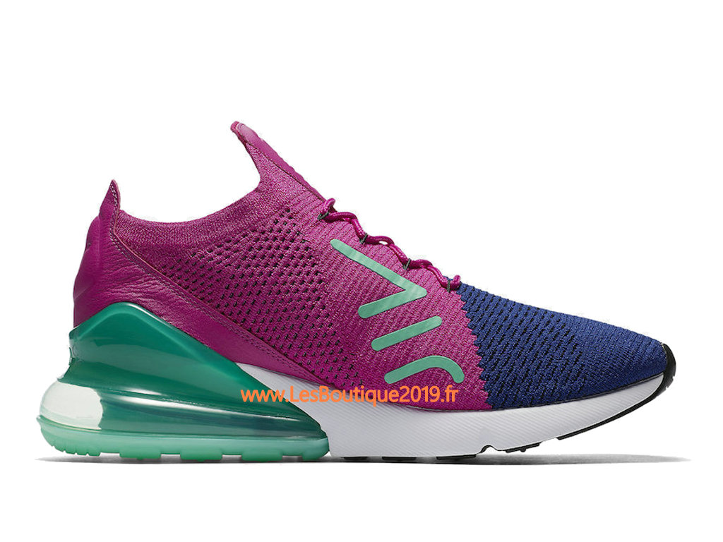on sale 073de 573b4 ... Nike Air Max 270 Flyknit Pink Green Men´s Nike Running Shoes ...