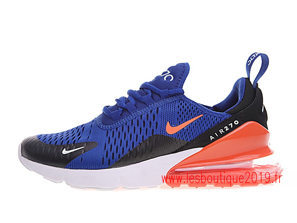 reputable site 9a098 fe39a Nike Air Max 270 GS Blue Black Women´s Nike Running Shoes ...
