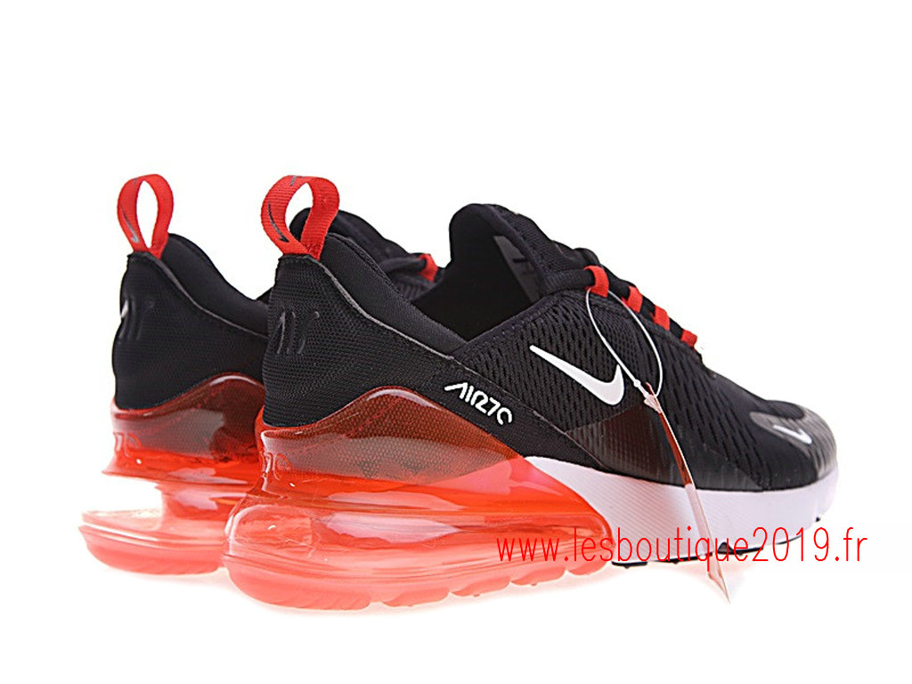 Nike Air Max 270 GS Noir Rouge Chaussures NIke Running Pas Cher Pour Femme AH8050-006