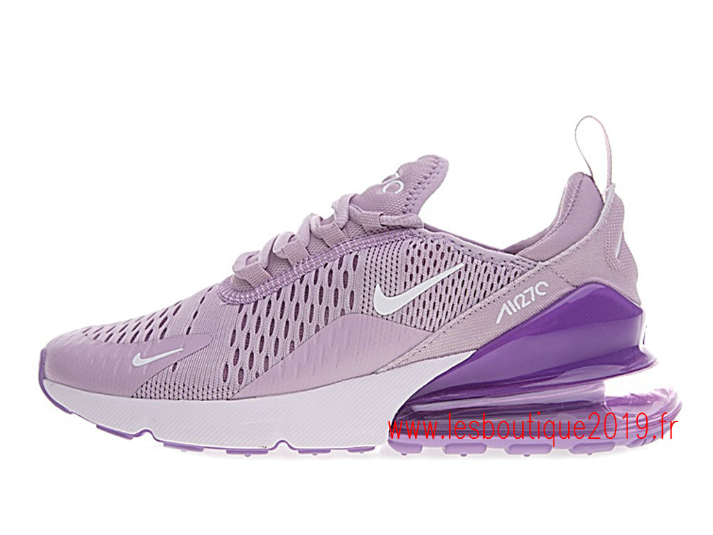 Nike Air Max 270 GS Pourpre Chaussures NIke Running Pas Cher Pour Femme AH8050-510