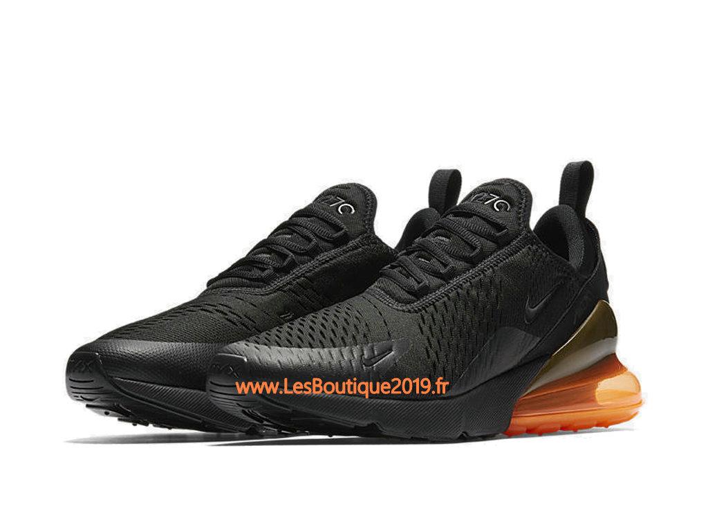 the latest 8dbc4 c4be6 ... Nike Air Max 270 Black Orange Men´s Officiel Prix Shoes AH8050-008 ...