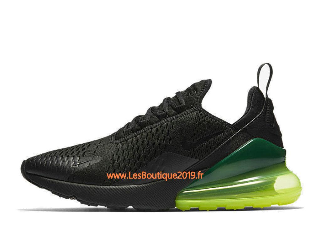 Nike Air Max 270 Noir Vert Chaussure Officiel Prix Pas Cher Pour Homme AH8050 011 1807090024 Achetez de Chaussure de Baskets ! Nike en ligne!