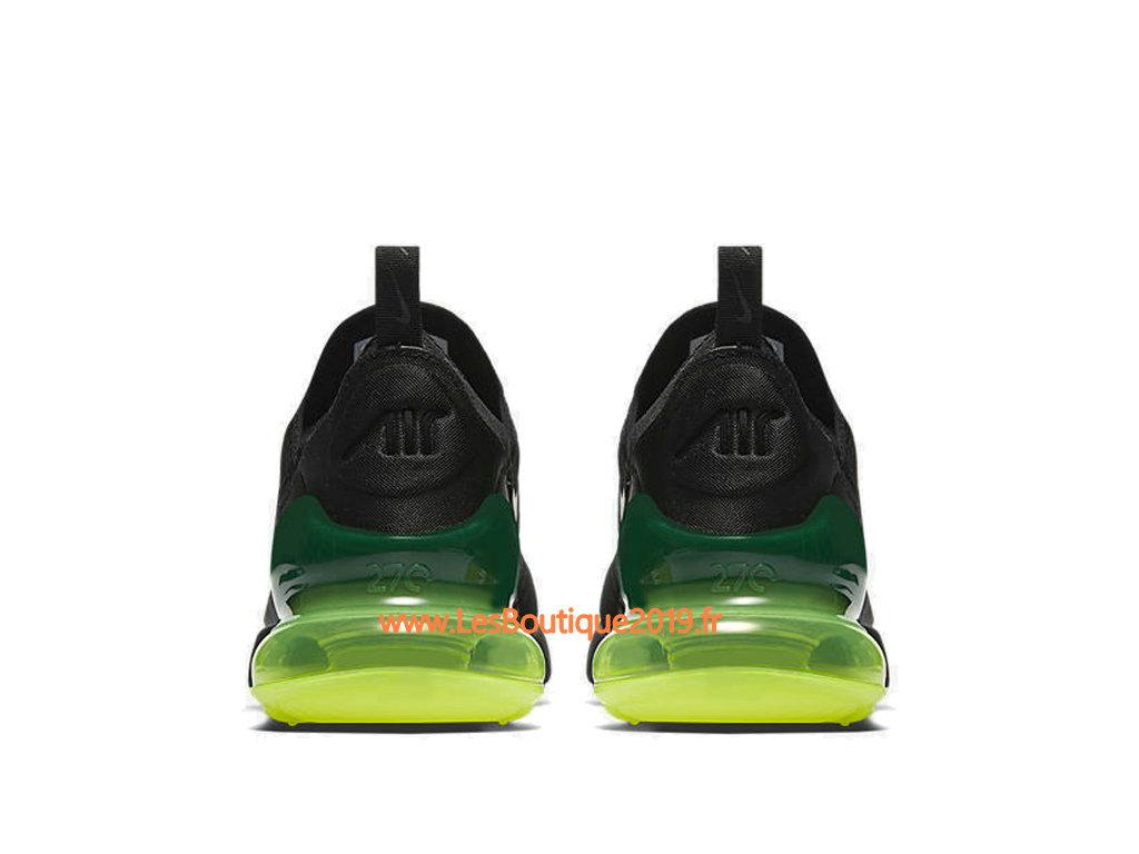 new style 442d9 022e7 ... Nike Air Max 270 Noir Vert Chaussure Officiel Prix Pas Cher Pour Homme  AH8050-011