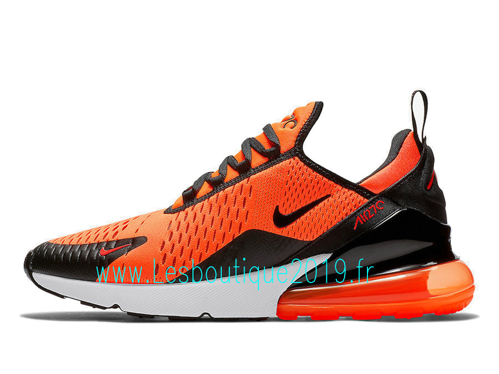 597dab91b5 Nike Air Max 270 Orange Chile Red Chaussures Officiel 2019 Pas Cher Pour  Homme BV2517- ...