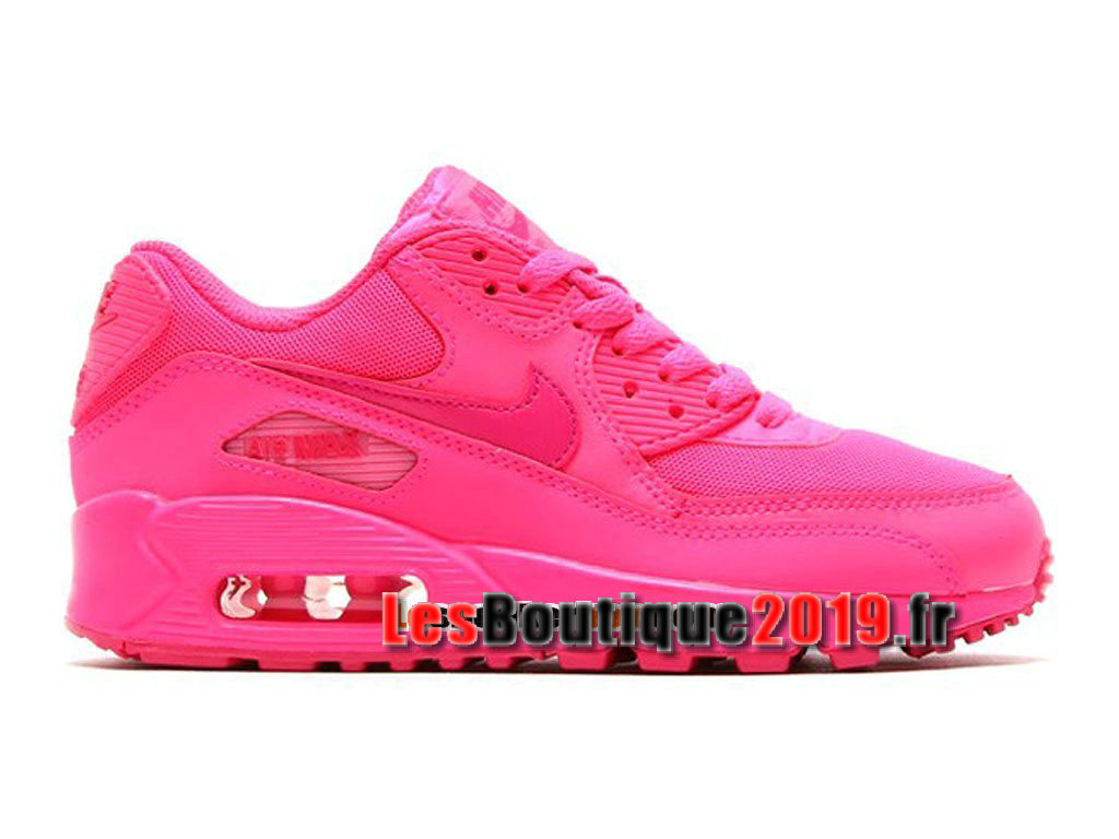 Nike Air Max 90 2007 GS Rose Chaussures Nike Running Pas Cher Pour Femme/Enfant 345017-601
