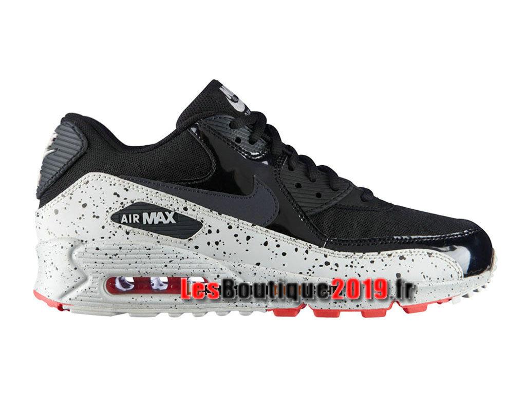 online store a4cd1 9a242 Nike Air Max 90 Chaussures Nike Sportswear Pas Cher Pour Homme Noir Blanc  325213-031H ...