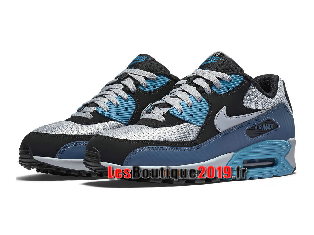 watch ce8bf 78fd2 ... Nike Air Max 90 Essential Men´s Nike Sportswear Shoes Blue Gery  537384-414