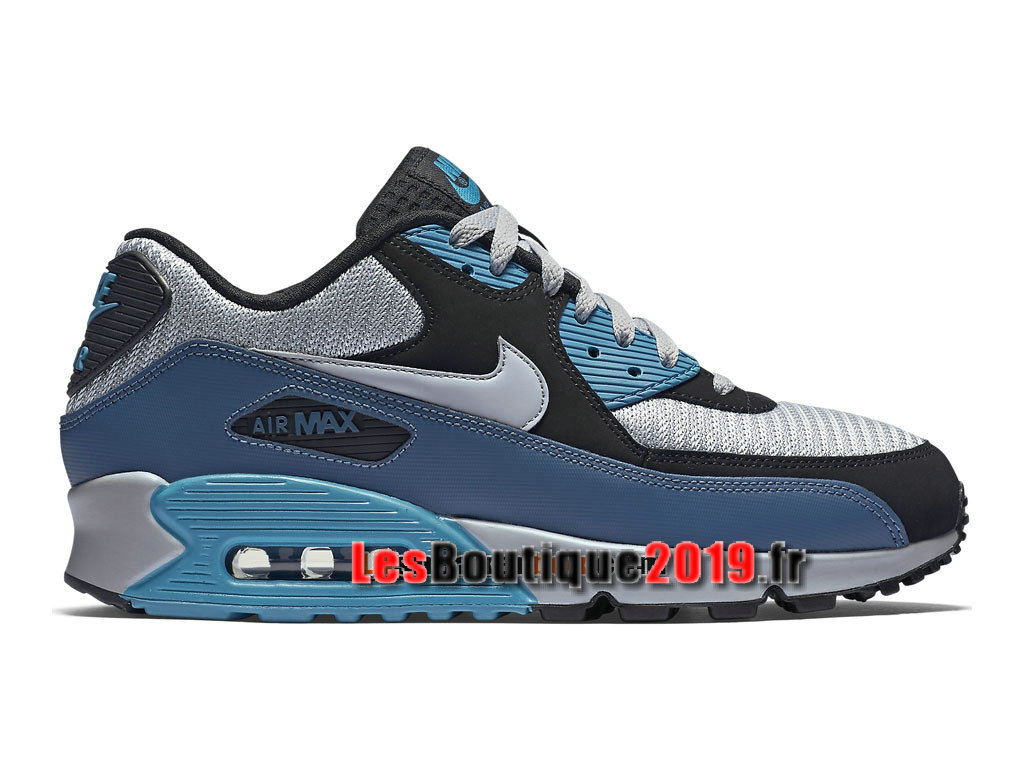6c3a58171d Nike Air Max 90 Essential Men´s Nike Sportswear Shoes Blue Gery ...