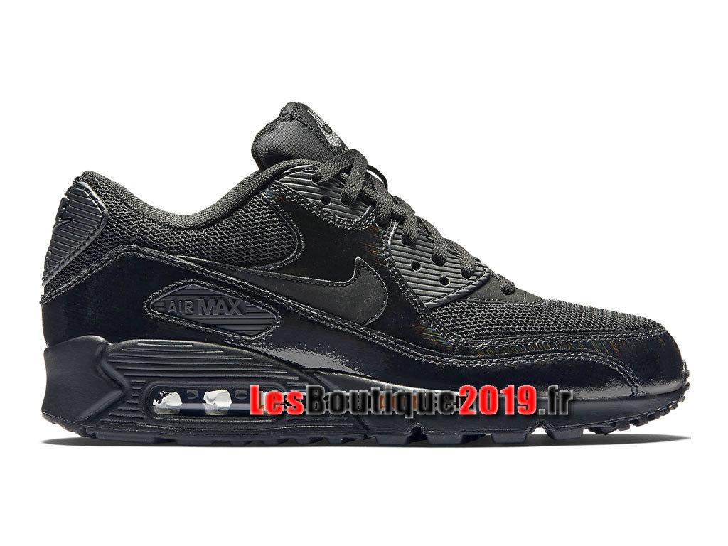 arrives dcf11 c99e2 Nike Air Max 90 Essential Chaussures Nike Sportswear Pas Cher Pour Homme  Noir 443817-002H ...