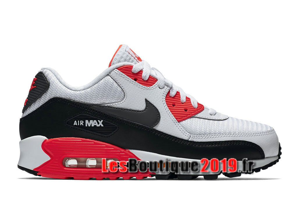 sports shoes 01268 fbcca Nike Air Max 90 Essential GS White Red Women´s Kids´s Nike