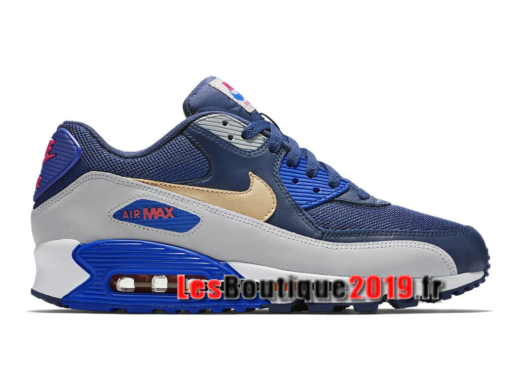 best loved 9ad4c bd558 Nike Air Max 90 Essential GS Blue White Women´sKids´s Nike