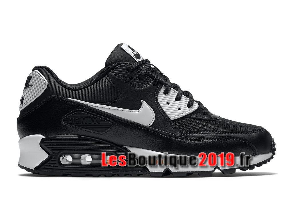 Nike Air Max 90 Essential GS Black White Women´sKids´s Nike