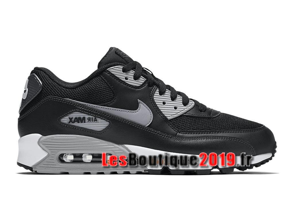 f8b1a578513d2 Nike Air Max 90 Essential GS Black White Women´s/Kids´s Nike ...