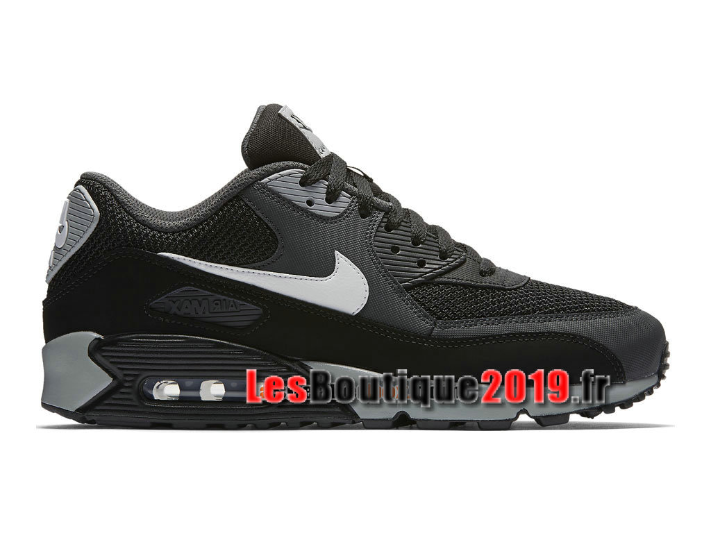 chaussures de sport 46b70 6b762 Nike Air Max 90 Essential GS Noir Blanc Chaussures Nike Sportswear Pas Cher  Pour Femme/Enfant 537384-063G - 1808170436 - Achetez de Chaussure de ...