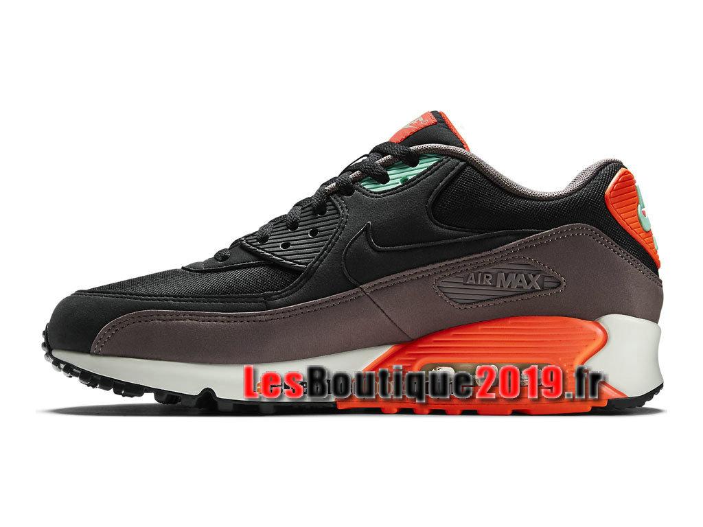 various colors 7c782 42e10 ... Nike Air Max 90 Essential GS Black Orange Women´s Kids´s NIke ...