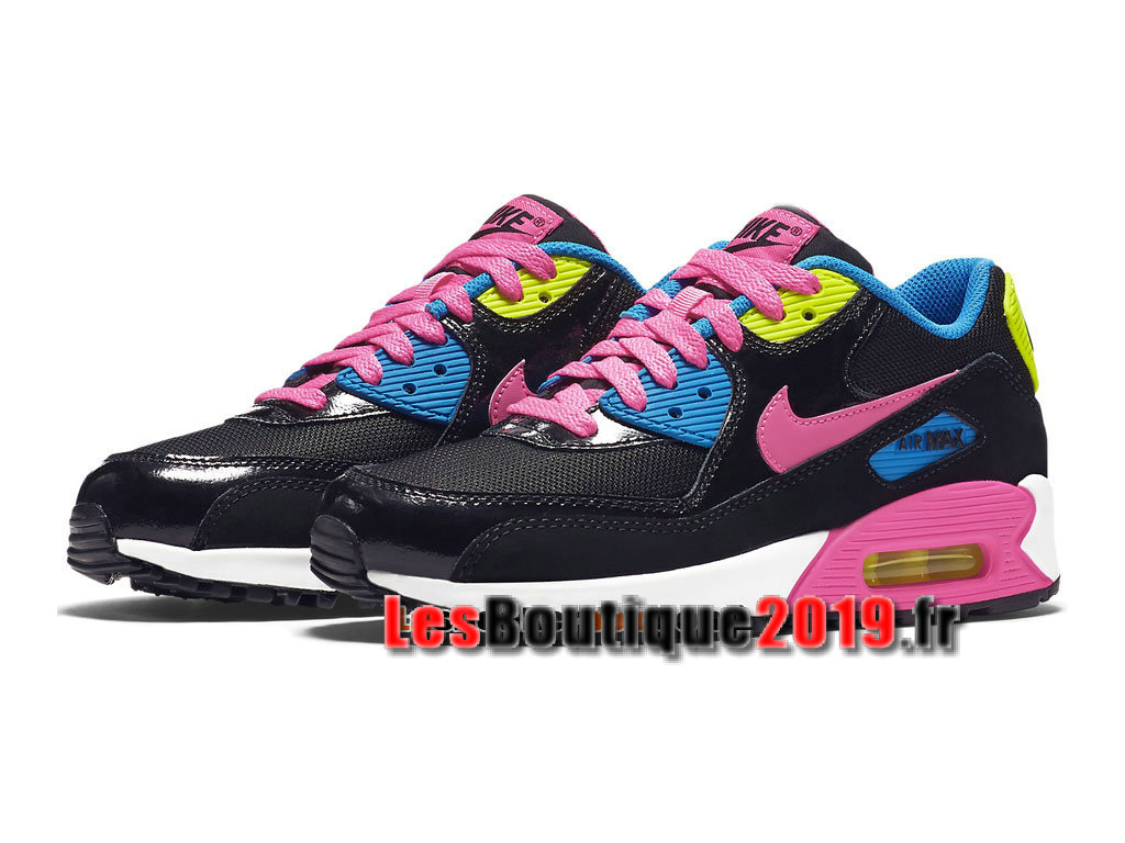 outlet store 5e8d5 c0762 ... Nike Air Max 90 Mesh GS Black Pink Women´s Kids´s Nike