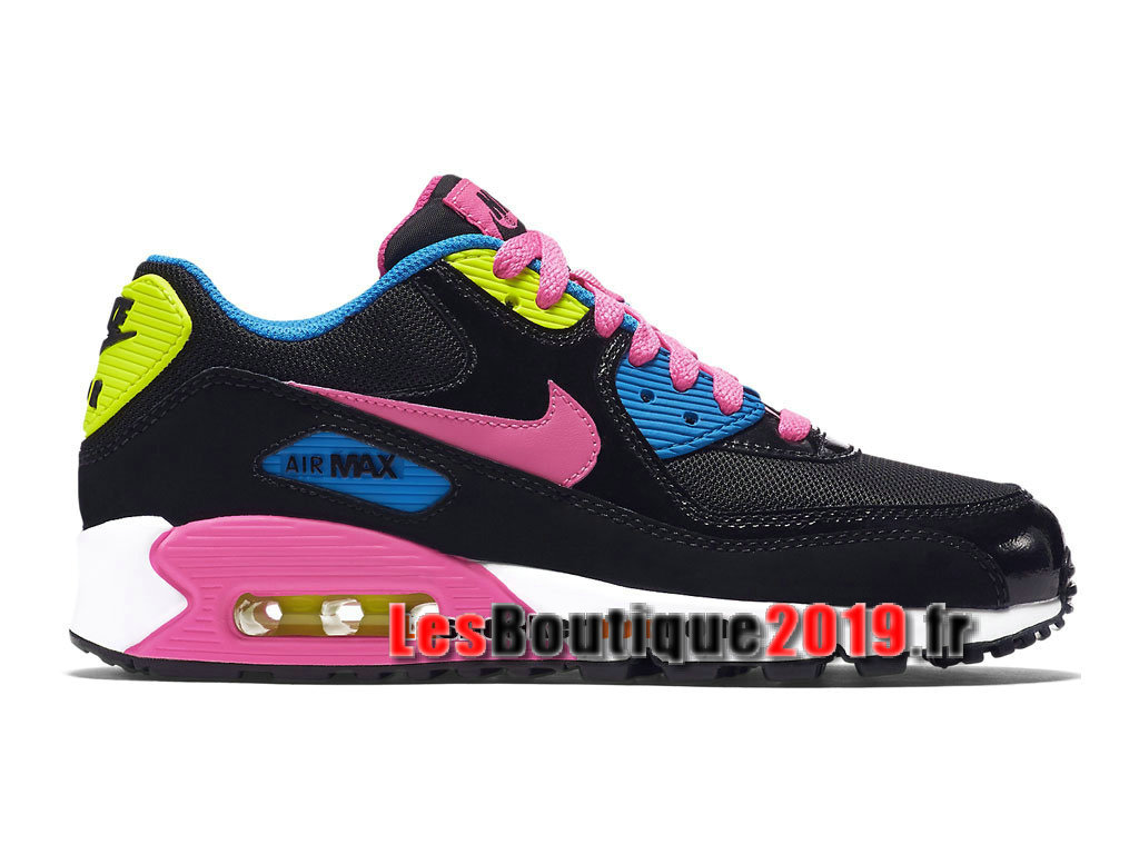 reputable site 4c94c 14ccd Nike Air Max 90 Mesh GS Black Pink Women´s Kids´s Nike ...