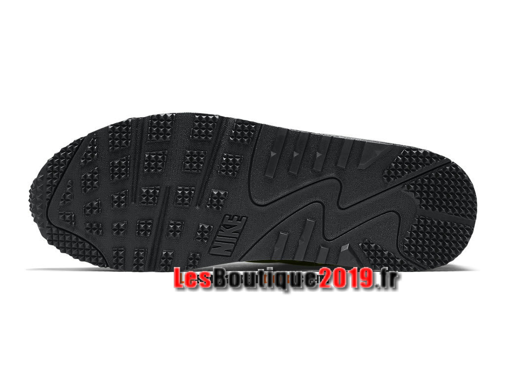 Nike Air Max 90 Mid Winter Chaussures Nike Running Pas Cher Pour Homme Brun Noir 806808-300