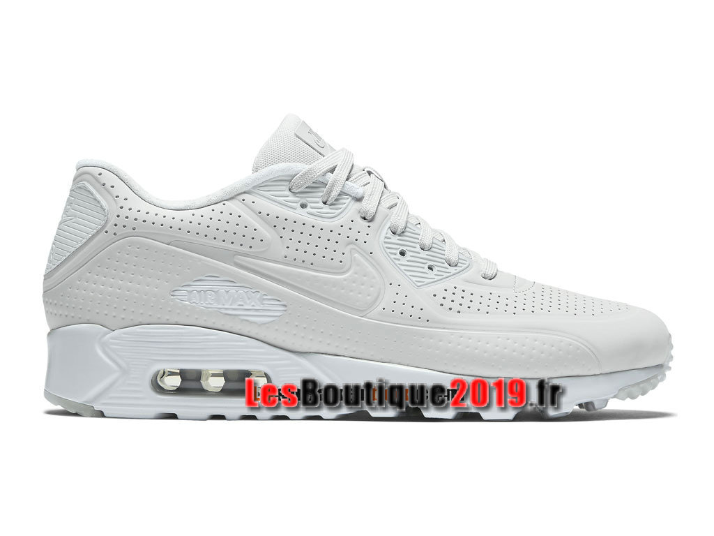 Nike Air Max 90 Ultra Moire Chaussure Nike Sportswear Pas Cher Pour Homme Blanc 819477-005
