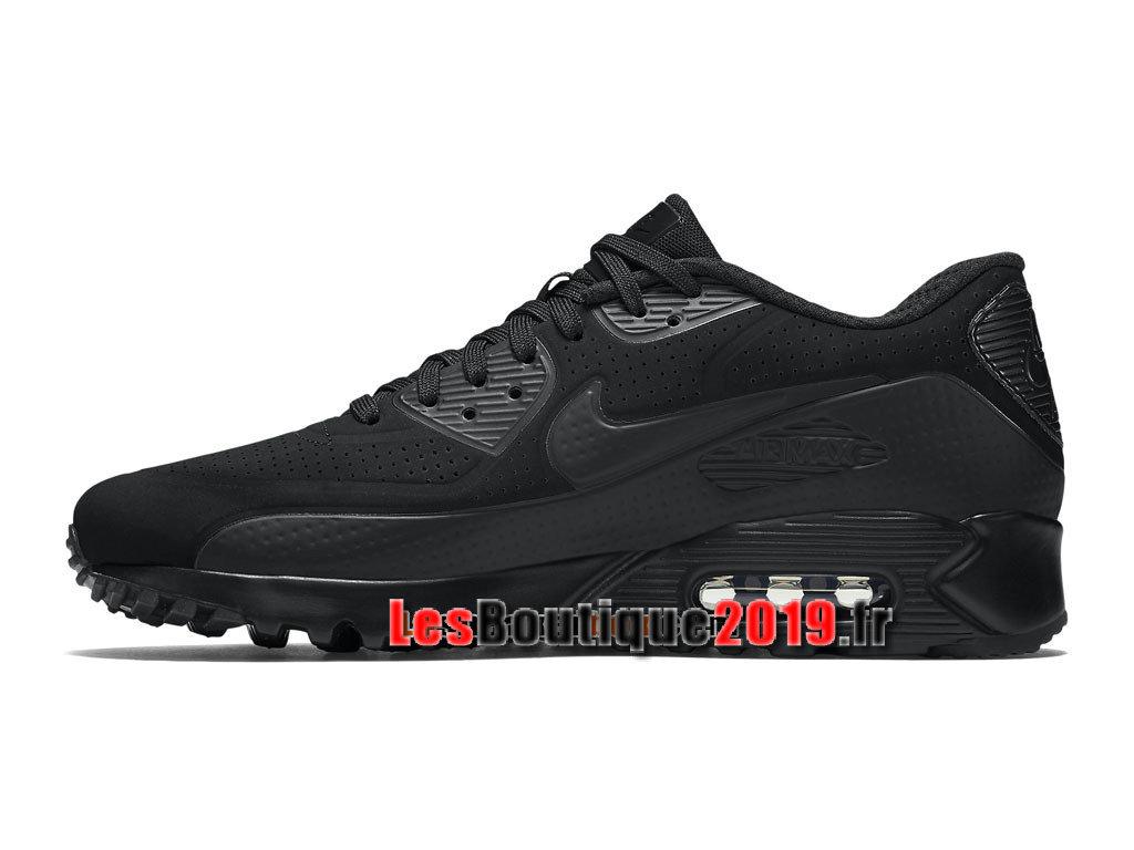 big sale a00f4 04b07 ... Nike Air Max 90 Ultra Moire Chaussure Nike Sportswear Pas Cher Pour  Homme Noir 819477- ...