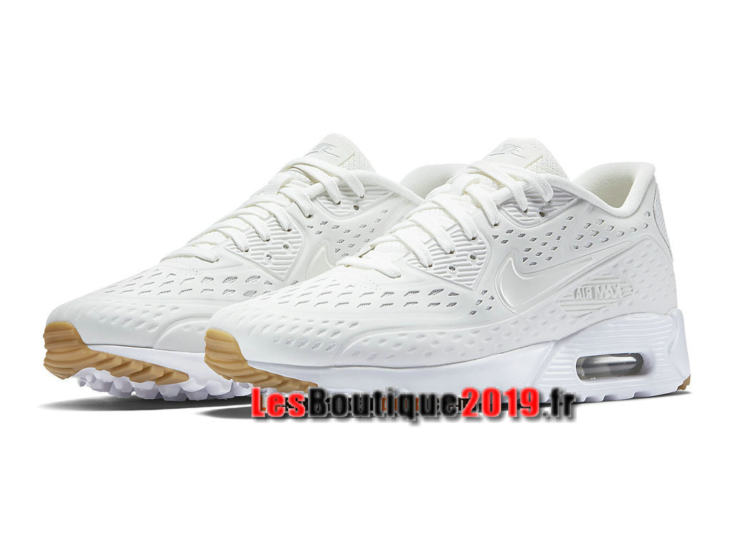 Nike Air Max 90 Ultra Moire Chaussures Nike Sportswear Pas Cher Pour Homme Blanc 725222-100