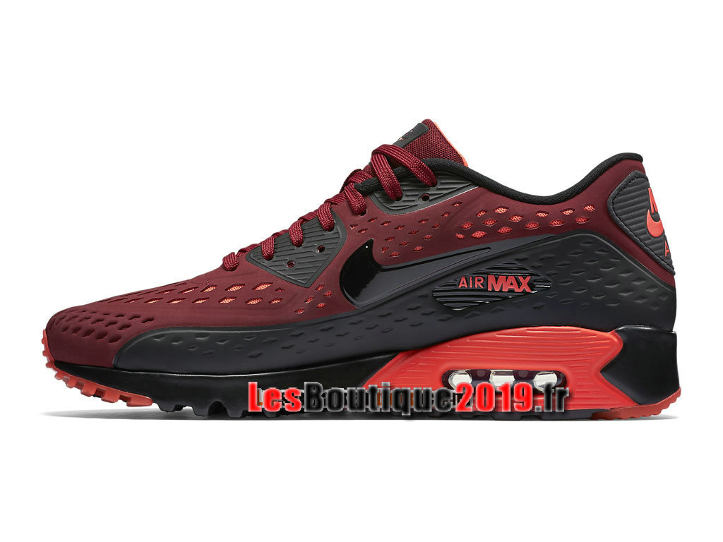 nike air max 90 ultra moire chaussures nike sportswear pas cher pour homme rouge noir 725222 600. Black Bedroom Furniture Sets. Home Design Ideas