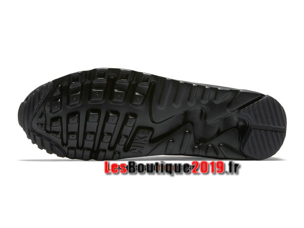hot sale online d4bc4 fde3d ... Nike Air Max 90 Ultra Moire FB Chaussure Nike Sportswear Pas Cher Pour  Homme Noir 820277 ...