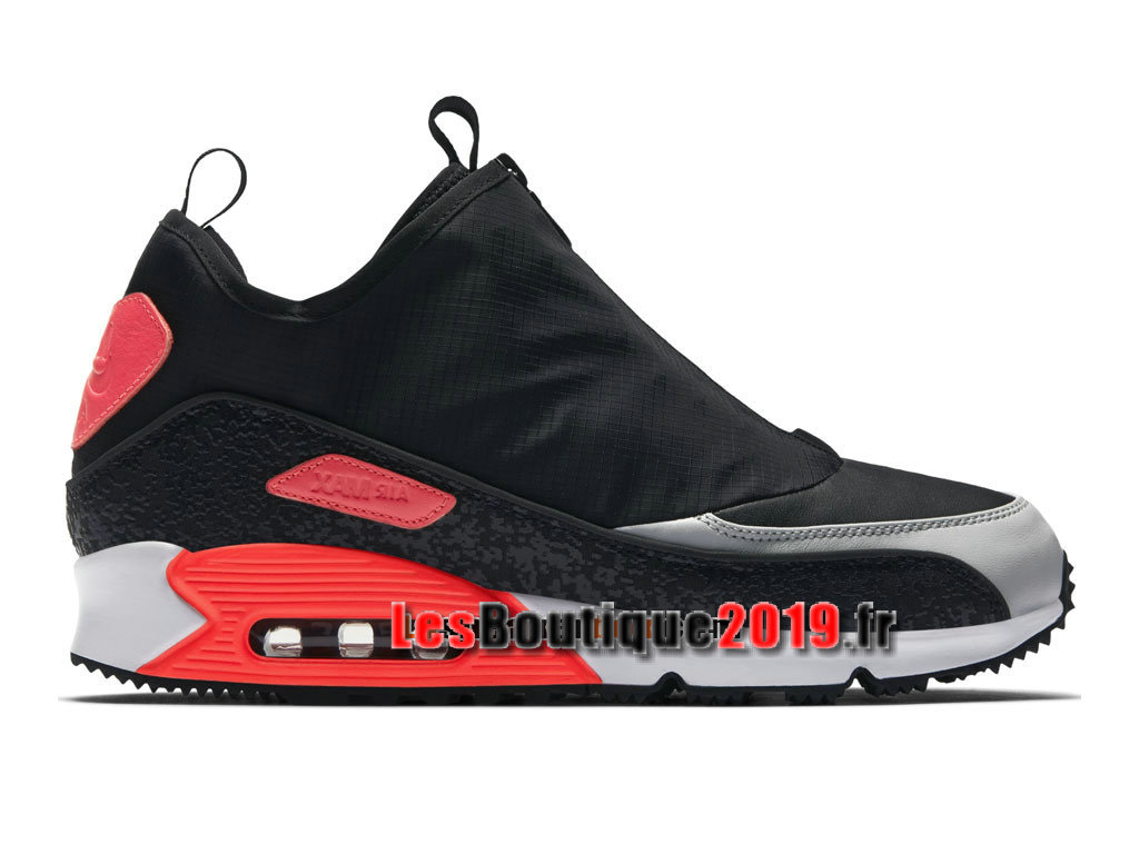 Nike Air Max 90 Utility Chaussure Nike Sportswear Pas Cher Pour Homme Noir Rouge 858956-002