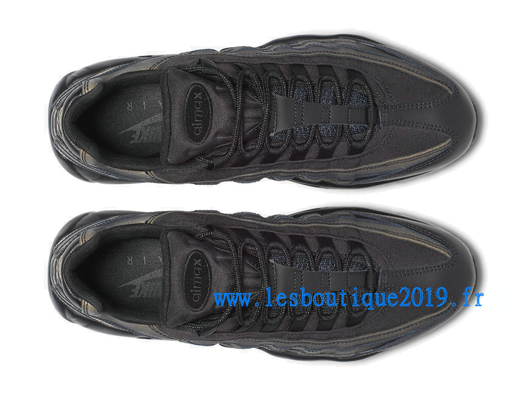 Nike Air Max 95 Black Gold Chaussures Nike Sportswear Pas Cher Pour Homme 924478-003