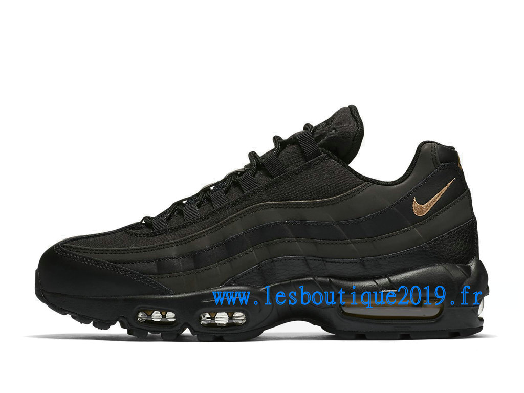 huge selection of fe570 46fae Nike Air Max 95 Black Gold Men´s Nike Sports Shoes ...