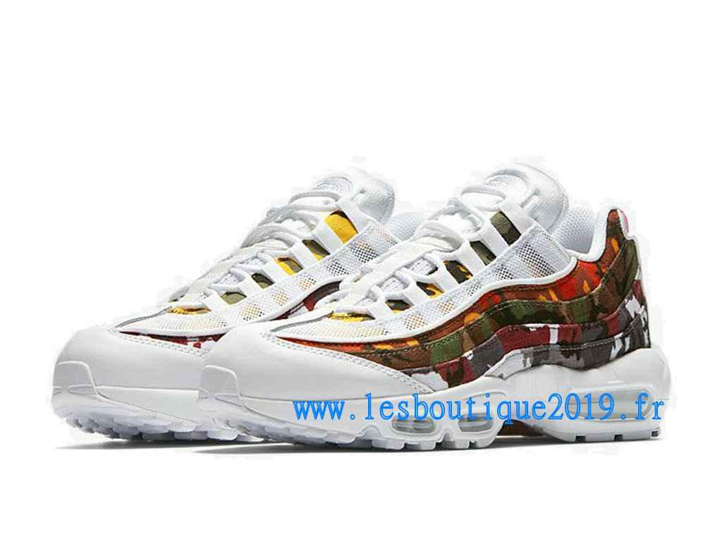 new concept b5246 1027a ... Nike Air Max 95 ERDL Party White Chaussures Nike Sportswear Pas Cher  Pour Homme AR4473- ...
