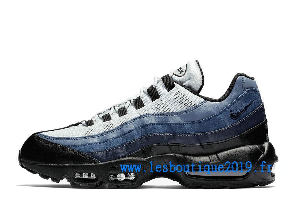 Nike Air Max 95 Essential Noir Blanc Chaussures Nike Sportswear Pas Cher Pour Homme 749766 021 1808110300 Achetez de Chaussure de Baskets ! Nike