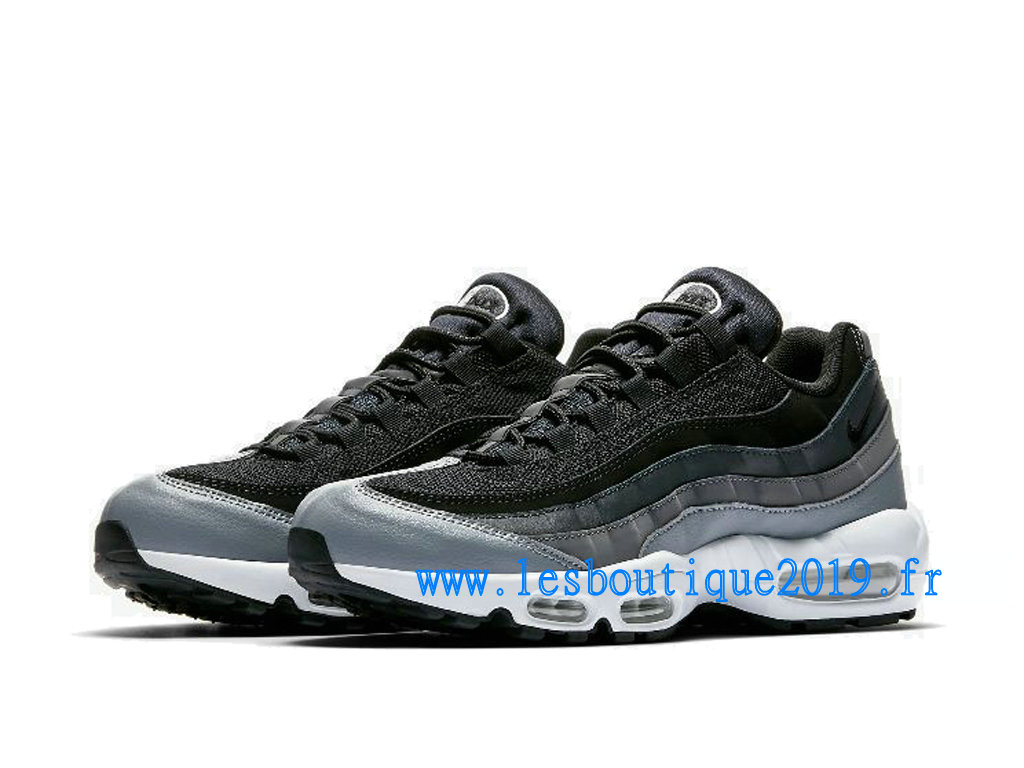 watch d1ee3 82a3f ... Nike Air Max 95 Essential Noir Blanc Chaussures Nike Sportswear Pas  Cher Pour Homme 749766- ...