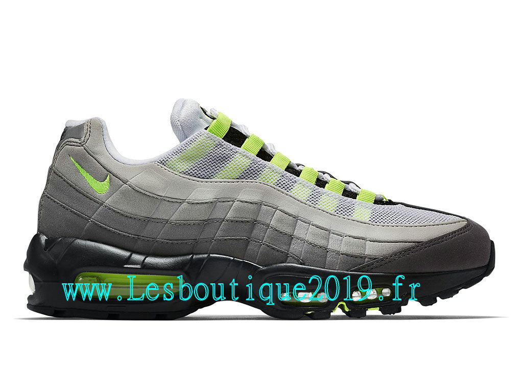 new styles 2eb56 03451 Nike Air Max 95 OG Men´s Officiel Running Shoes White Green 554970-071