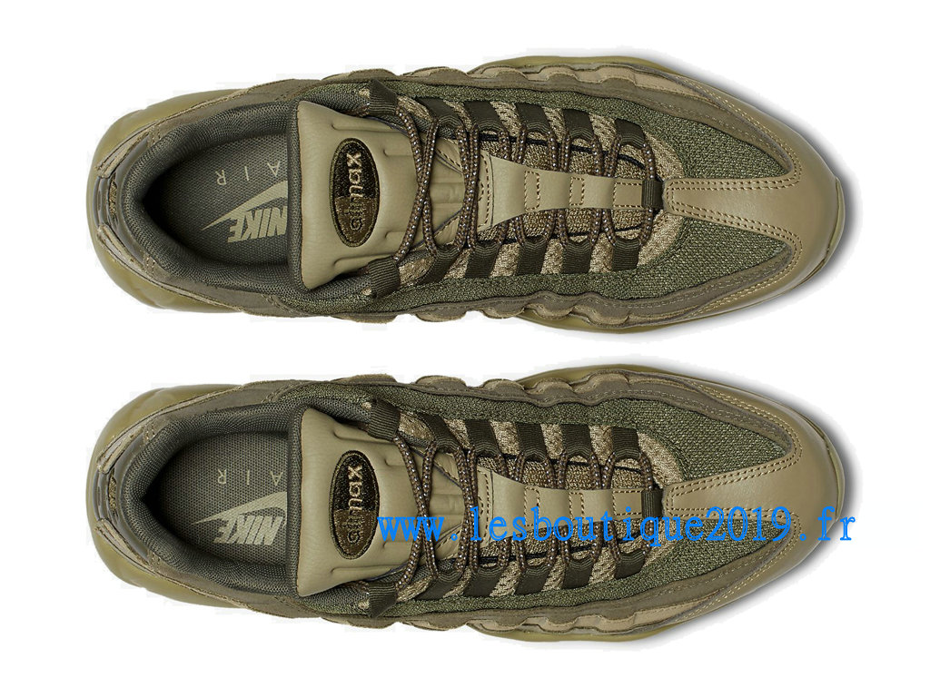 save off c0be1 4c844 ... Nike Air Max 95 Premium Vert Chaussures Nike Sportswear Pas Cher Pour  Homme 538416-201 ...