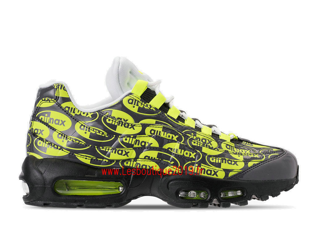 big sale 1caa5 56532 ... Nike Air Max 95 Premium Green Black Men´s Officiel Running Prix Shoes  538416- ...