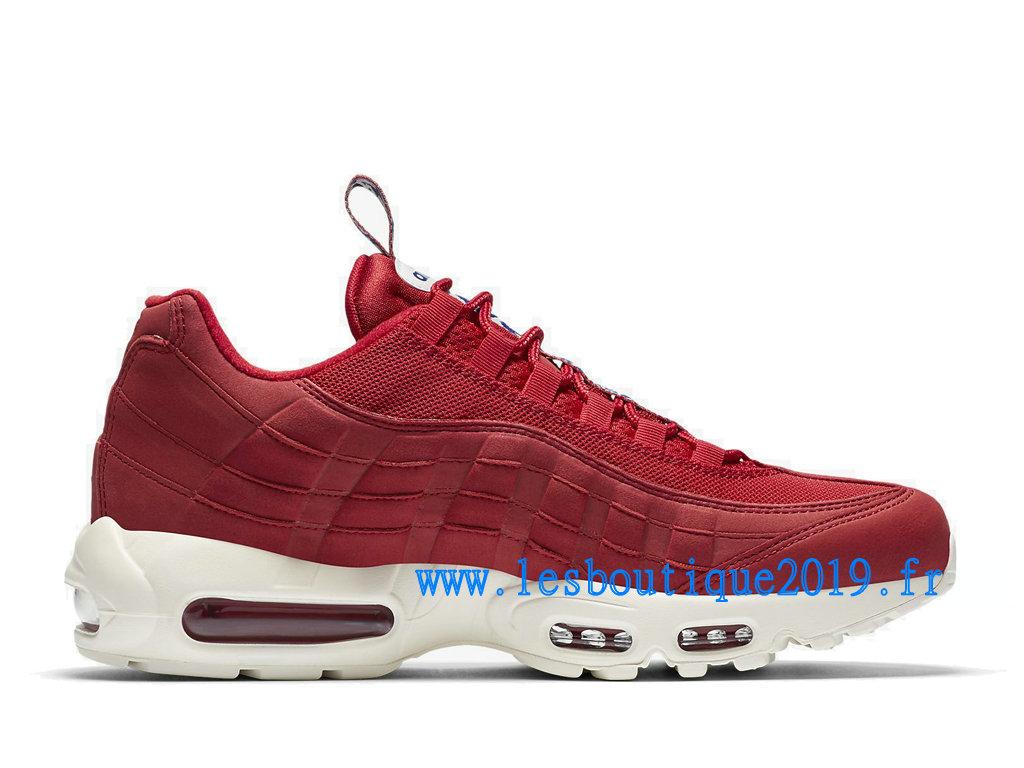 Nike Air Max 95 Pull Tab Pack Rouge Blanc Chaussures Nike Sportswear Pas Cher Pour Homme AJ1844 600 1808110319 Achetez de Chaussure de Baskets !