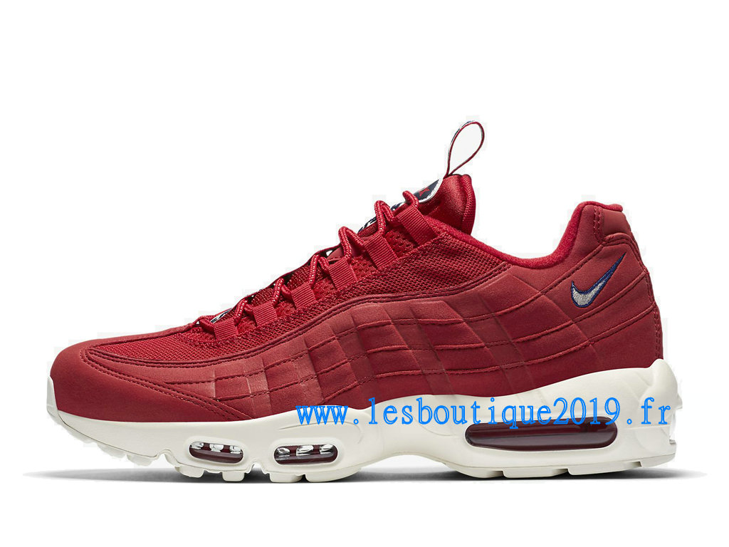 nike air max 95 blanche rouge