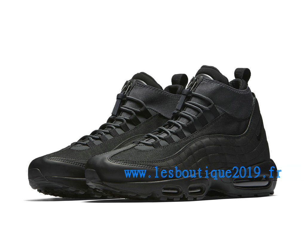 new style 892db b5b82 ... Nike Air Max 95 Sneakerboot Noir Chaussures Nike Sportswear Pas Cher  Pour Homme 806809-001 ...
