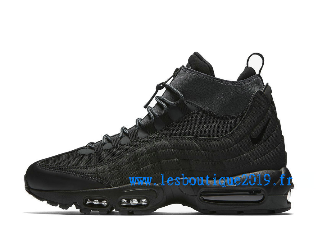 Nike Air Max 95 Sneakerboot Noir Chaussures Nike Sportswear Pas Cher Pour Homme 806809-001 ...