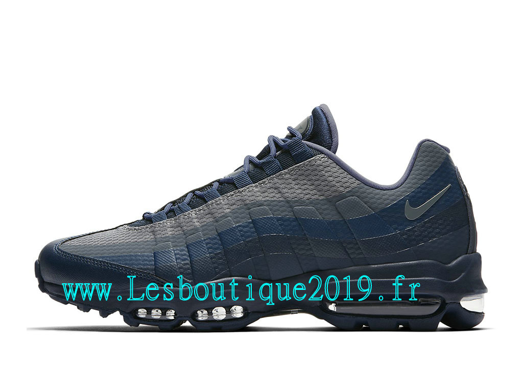 Nike Air Max 95 Ultra Essential Chaussures Officiel Running Pas Cher Pour Homme Bleu Gris 857910_403