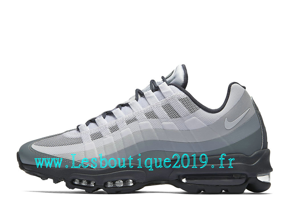 buy popular e9244 add62 Nike Air Max 95 Ultra Essential Chaussures Officiel Running Pas Cher Pour  Homme Gris Noir 857910 002 ...